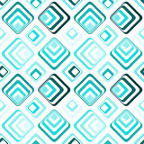 Diamond squares seamless pattern background Royalty Free Stock Image