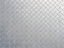 Diamond Steel Pattern Immagine Stock