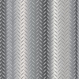 Diamond Steel Plate. Diamond polished steel alumnium plate Royalty Free Illustration
