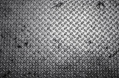 Diamond steel plate background Royalty Free Stock Image