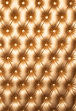 Diamond stitched leather furniture for background or texture. Royalty Free Stock Image