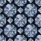 Diamond stone seamless wallpaper, vector Royalty Free Stock Photos