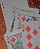 Diamond straight real winning casino play. Straight real diamond casino play Stock Photo