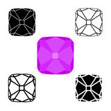 Diamond Symbols Photos stock