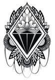 Diamond Tattoo Stock Photos