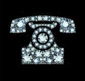 Diamond Telephone Imágenes de archivo libres de regalías