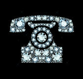 Diamond Telephone Royalty Free Stock Images