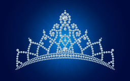 Diamond tiara / vector illustrations Stock Image