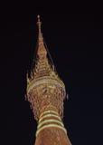 Diamond on top of Shwedagon pagoda in Yangon Royalty Free Stock Photography