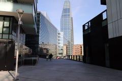 Diamond tower in Milan Stock Photos
