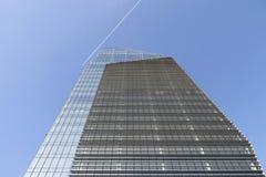 Diamond tower in Milan Stock Photo