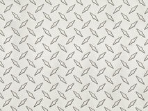 Diamond Tread Sheet Metal Stock Photo