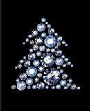 Diamond Tree Imagem de Stock Royalty Free