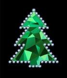 Diamond Tree Stock Photography