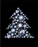 Diamond Tree Royalty Free Stock Image