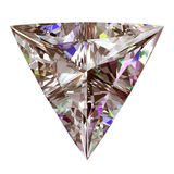 Diamond Triangle Imagem de Stock Royalty Free