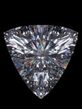 Diamond trillion cut Royalty Free Stock Photo