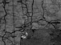 A Single Diamond on a House Brick royalty free stock photo