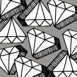 Diamond vector crystal brilliant shiny gemstone icon gemstone je Stock Photos