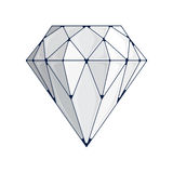 Diamond Vector Icon Image stock