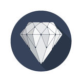 Diamond Vector Icon Image libre de droits