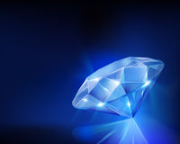 Diamond. Vector illustration. Stock Photo