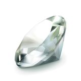 Diamond vector object Stock Image