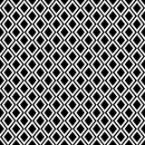 Diamond vector repeat tiled pattern Royalty Free Stock Photography