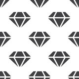 Diamond, vector seamless pattern Royalty Free Stock Photos
