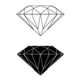 Diamond Vector and Silhouette Stock Photography