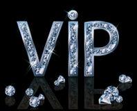 Diamond VIP invitation card Royalty Free Stock Photo