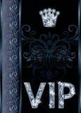 Diamond VIP invitation card Stock Photos
