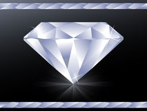 Diamond wallpaper vector illustration