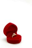 Diamond Wedding Ring Stock Images