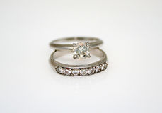 Diamond Wedding Ring Stock Images