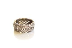Diamond Wedding Ring Stockbild