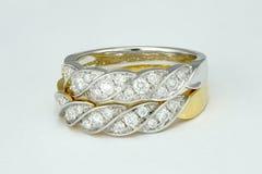 Diamond Wedding Ring imagem de stock royalty free