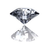Diamond on white Royalty Free Stock Photography