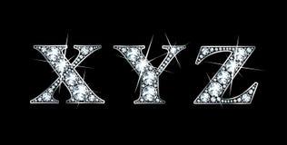 Diamond X, Y, Z Stock Photo