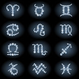 Diamond_zodiac Photo stock