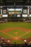 Diamondbacks dell'Arizona - campo di inseguimento Fotografia Stock