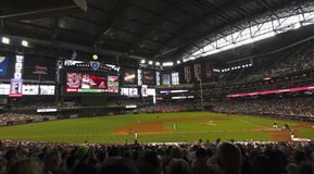 A Diamondbacks Giants Game at Chase Field Stock Image