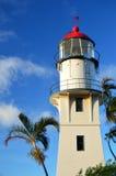 Diamondhead latarnia morska Hawaje Zdjęcie Stock