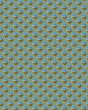 Diamondplate carré vert Photos libres de droits