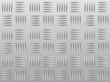 Diamondplate di alluminio Immagini Stock