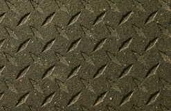 Diamondplate pattern. On a gym floor royalty free stock image