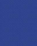 Diamondplate plástico azul Imagem de Stock
