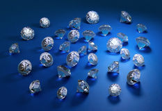 Diamonds. Royalty Free Stock Photo