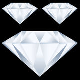 Diamonds background Royalty Free Stock Images