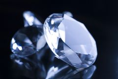 Diamonds  background Stock Image